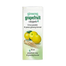 Grapefruit drops with Ginseng