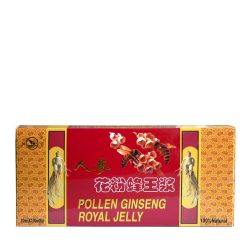 Pollen Ginseng Royal Jelly ampoules
