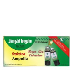 Virgin Tea ampoule with buckthorn, isoflavonoid, apple vinegar and L-carnitine