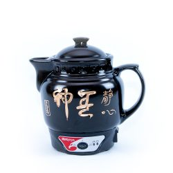Ceramic-clays healing -soup and -tea cooker (big)