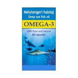 Mélytengeri halolaj kapszula Omega-3 zsírsavval