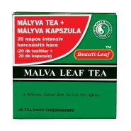 Mallow tea and capsule