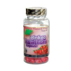 Ginkgo-Weißdorn-Kapsel