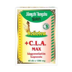 Virgin Tea CLA MAX capsule with CLA and L-carnitine