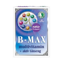 B-Max multivitamin + aktív Ginseng tabletta