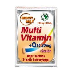 Multi-Max Multivitamin + Q10 + Selenium tablets