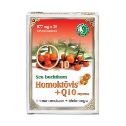 Homoktövis + Q10 lágyzselatin kapszula