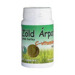 Green Barley capsule with Vitamin C