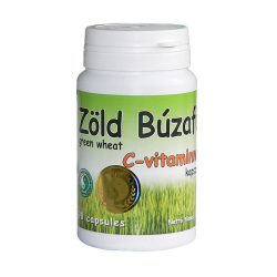 Green Wheat Grass capsule with vitamin C