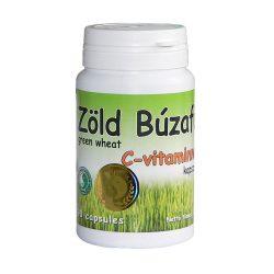 Grünes Weizengras mit Vitamin C Kapsel