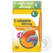 1×Denne Vitamín C 500 mg kapsuly