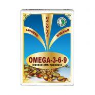 Omega 3-6-9 softgel capsules