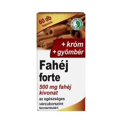 Cinnamon Forte capsule with ginger and chromium