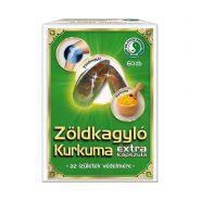Zöldkagyló Kurkuma Extra kapszula