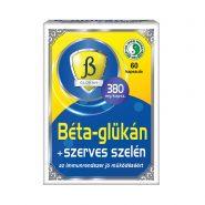 Béta-glükán + Szelén kapszula