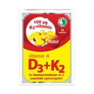Vitamin A+D3+K2 capsule