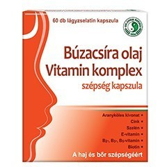 Wheat germ oil vitamin komplex