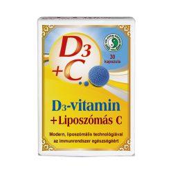 D3-MAX Liposzómás C-vitamin kapcszula