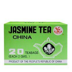 Originaler chinesischer grüner Tee mit Jasmin (Tee-Filter)