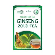 Ginseng and green tea