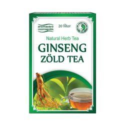 Ginseng und grüner Tee