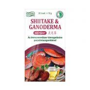 Instant Shiitake és Ganoderma tea