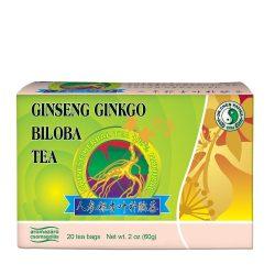 Ginseng-Ginkgo und grüner Tee
