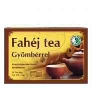 Cinnamon tea with ginger