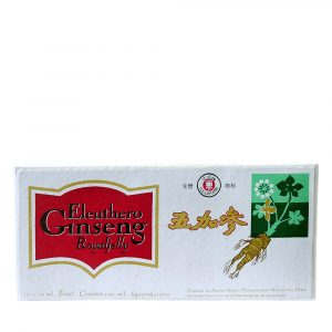 Eleuthero-Ginseng-Royal Jelly ampoules