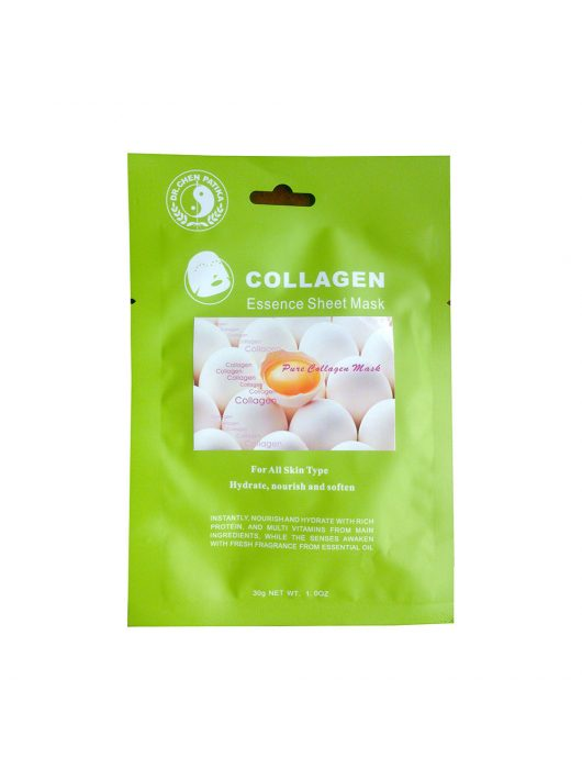 Face mask with kollagen