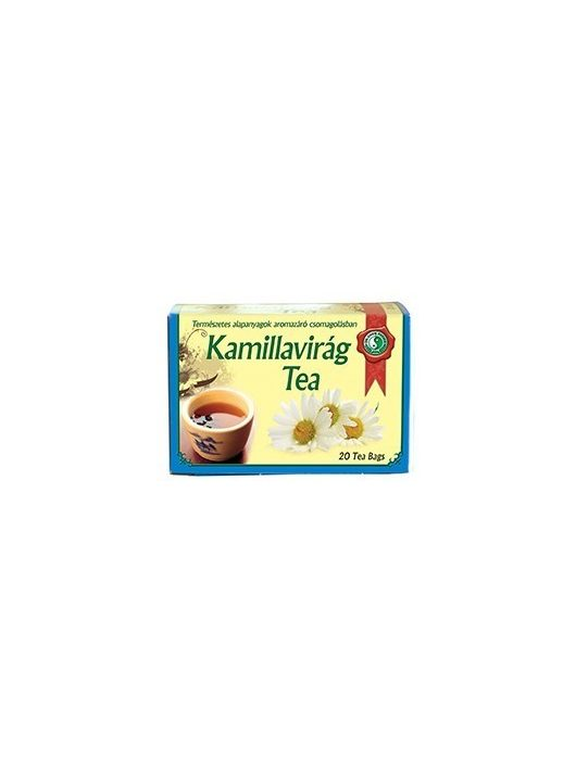 Kamillavirág tea - 20db
