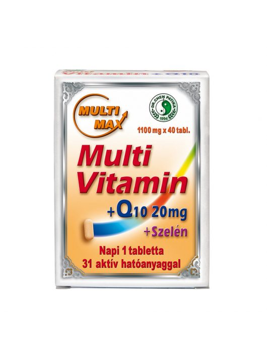 MultiMax vitaminQ10Szeléntabletta