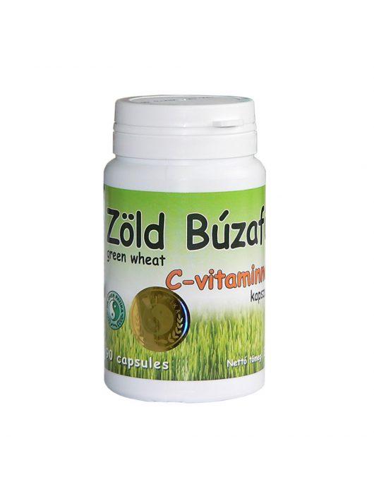 Green Wheat Grass capsule with vitamin C - 90pcs