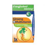 Napi 1 Család, Ginseng+Multivitamin kapszula