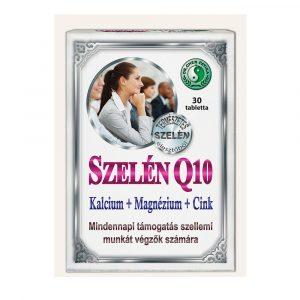 Szelén Q10 Kalcium + Magnesium + Zink tablet - 30pcs