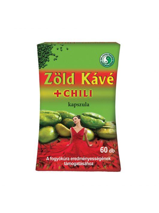Green Coffee + Chili capsule