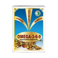 Omega 3-6-9 lágyzselatin kapszula