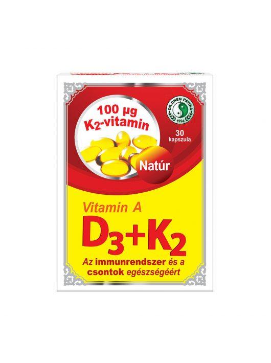 Vitamin A+D3+K2 kapszula