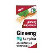 Ginseng Magnézium Komplex kapszula