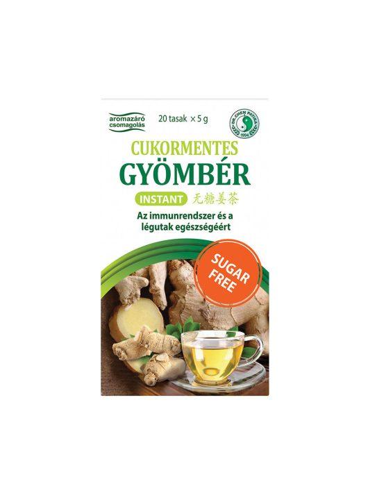 Instant Gyömbér tea - Cukormentes